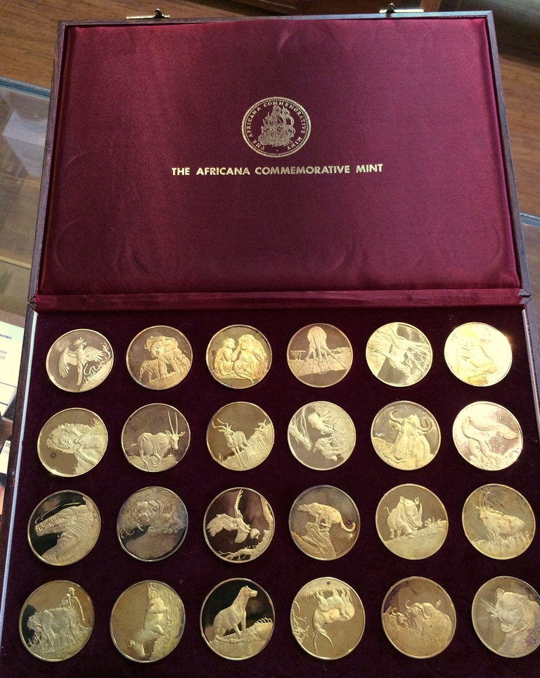 wildlife society medallion set (6)