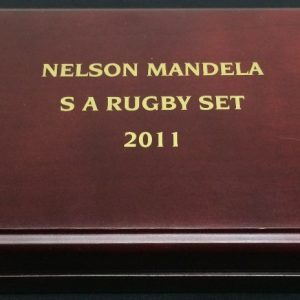 NELSON MANDELA RUGBY COIN SET R18500 (1)