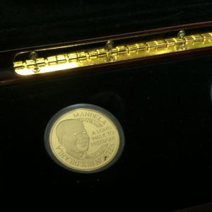 NELSON MANDELA RUGBY COIN SET R18500 (3)
