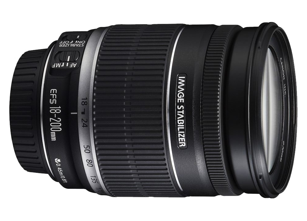 Canon 18 200 IS lens