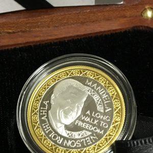 Mandela Bimetallic Medallion (5)