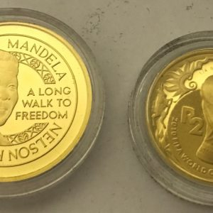 MANDELA 2010 WORLD CUP WINNERS SET (1)