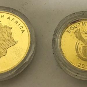 MANDELA 2010 WORLD CUP WINNERS SET (3)