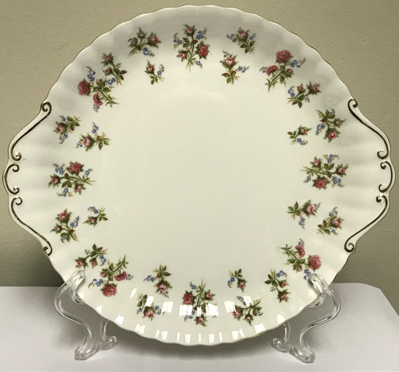 ROYAL ALBERT WINSOME CAKE PLATE (2)