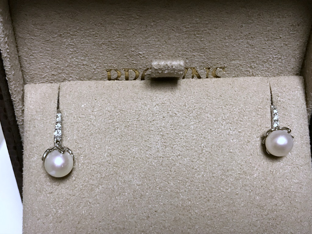 BROWNS PEARL AND DIA EARRING AND PENDANT SET (11)