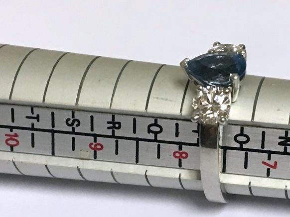 PT AQUAMARINE DIAMOND RING (1)