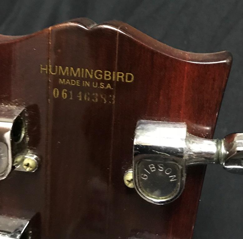 GIBSON HUMMINGBIRD (5)
