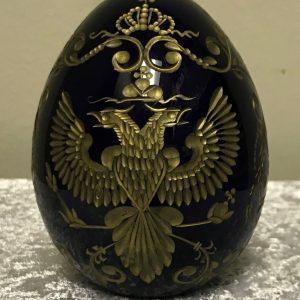 cobalt blue faberge egg (1)