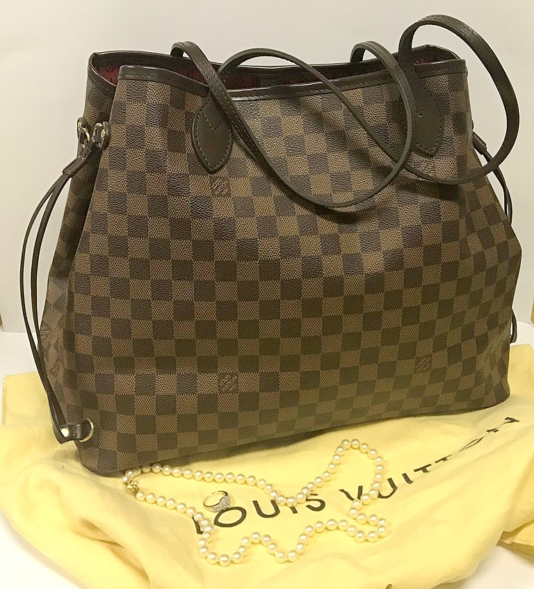 LOUIS VUITTON NEVERFULL MONOGRAM EBENE GM (2)