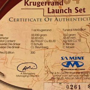 KRUGERRAND LAUNCH SET (6)