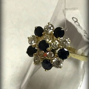 14ct gemstone ring (1)