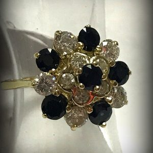 14ct gemstone ring (2)