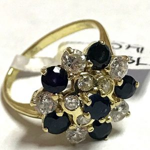 14ct gemstone ring (5)