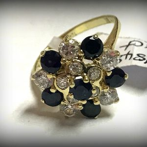 14ct gemstone ring (6)