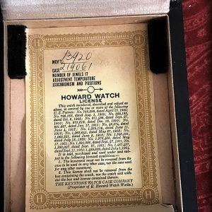 HOWARD POCKET WATCH (9)