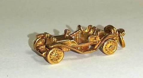 SETOF GOLD CARS (6)