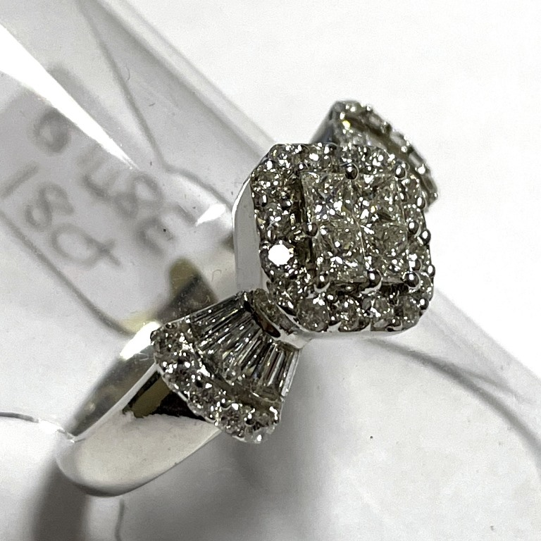 DIAMOND BOW RING S8148E R18000 (3)