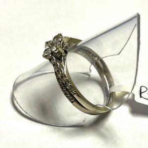 WHITE GOLD DIAMOND WEDDING SET S7981A R8800 (3)