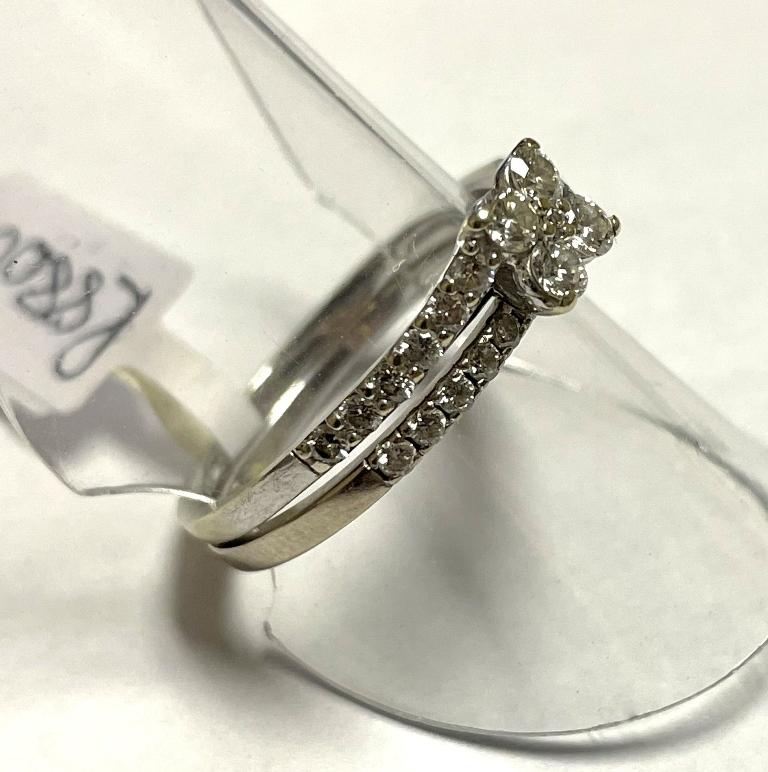 WHITE GOLD DIAMOND WEDDING SET S7981A R8800 (4)