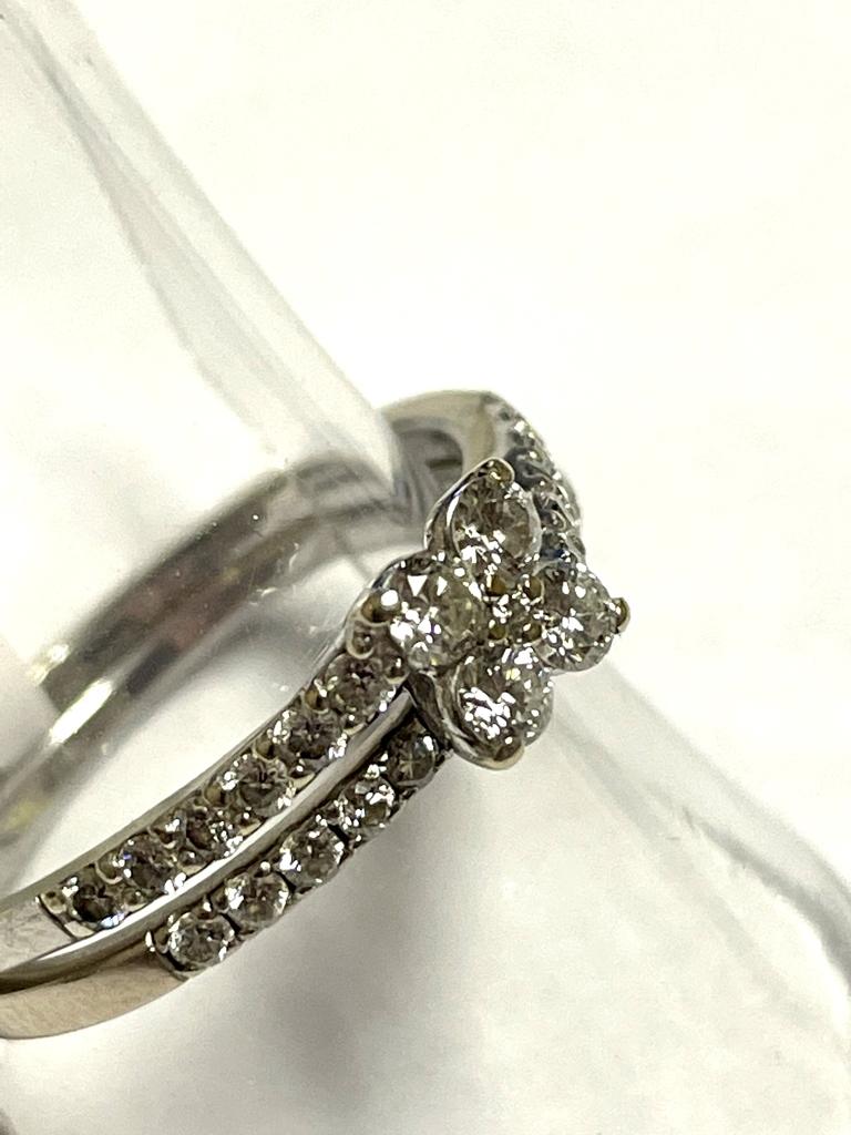 WHITE GOLD DIAMOND WEDDING SET S7981A R8800 (5)